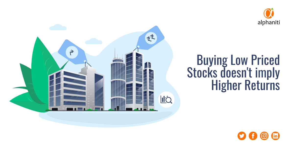 Low Priced Stocks vs High Priced Stocks – Which is better?
