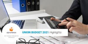 Budget highlights 2021
