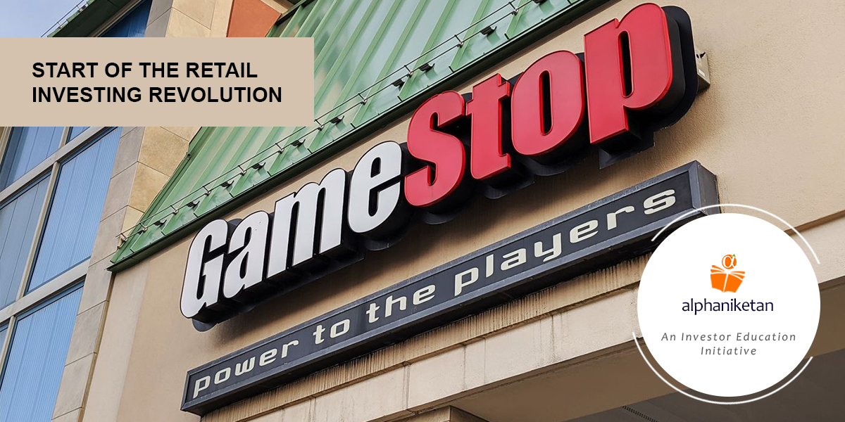 Read more about the article GameStop & Start of the Retail Investing Revolution
