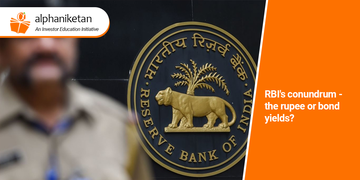 Read more about the article RBI's conundrum – the rupee or bond yields?